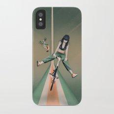 Happy Joyride iPhone X Slim Case