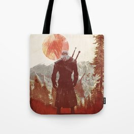 The Witcher Geralt variation print Tote Bag