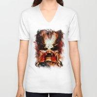 predator V-neck T-shirts featuring Predator by Sirenphotos