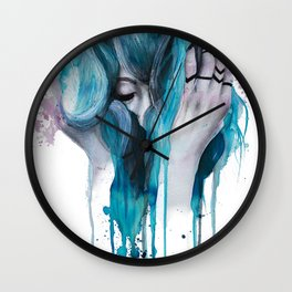 Who I Used to Be Wall Clock