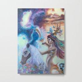 Spirit Warrior Metal Print