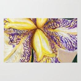 Bearded Iris Rug