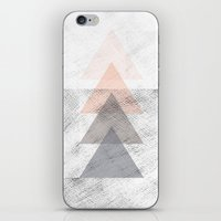 triangles iPhone & iPod Skins featuring Triangles by Indiepeek | Marta