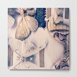 A Mé·lange of Butterflies Metal Print