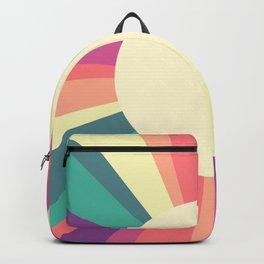 70s Retro Sun Sunshine Backpack