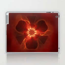 Fire Flower Laptop & iPad Skin