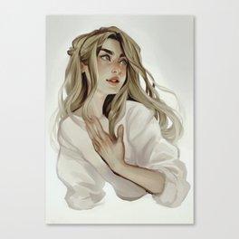 Vanilla Canvas Print