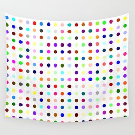 Big Hirst Polka Dot Wall Tapestry