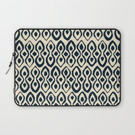 brocade indigo ivory Laptop Sleeve