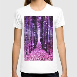 Magical Forest Pink & Purple T-shirt