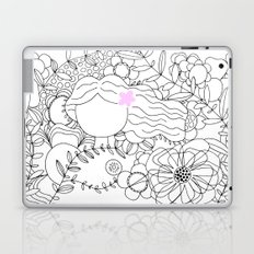 soothing with pink rose Laptop & iPad Skin