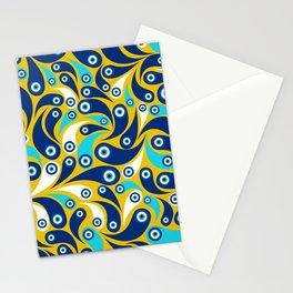 Nazar Amulet Paisley pattern #1 Stationery Cards