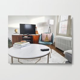 Hipster Living Space Metal Print
