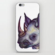 Rhino Blues iPhone & iPod Skin