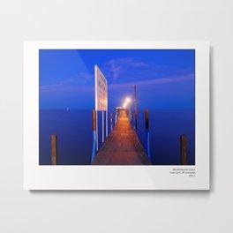 Wealthwood Dock Metal Print