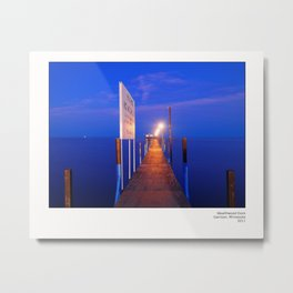 Wealthwood Dock Metal Print