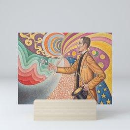 Portrait of Félix Fénéon Mini Art Print