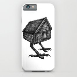 Baba Yaga's Hut iPhone Case