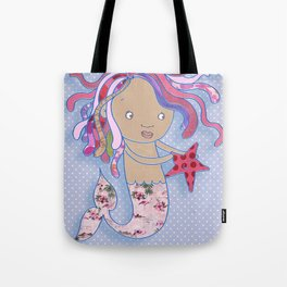 Water Fairy Mermaid Tote Bag