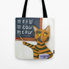 Smarty Cat Tote Bag