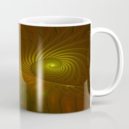 Glowing Fantasy, Abstract Fractal Art Coffee Mug