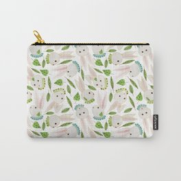 Rabbits in Ruffles Carry-All Pouch