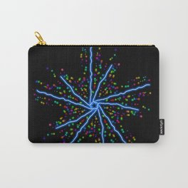 Electric Star Kaleidoscope Graphic Carry-All Pouch