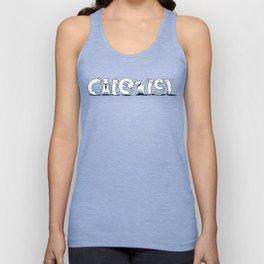 Cat Exist | Coexist Parody Typography Unisex Tank Top
