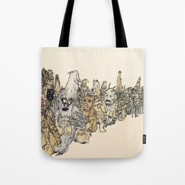 Koukeri (Mummers) Tote Bag