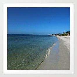 Fort Myers Beach November 2017 Art Print