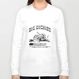 Big Dickies Taxidermy Stuffing Beavers Duck Deer Hunt t-shirts Long Sleeve T-shirt