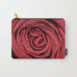 Raindrop Rose Carry-All Pouch