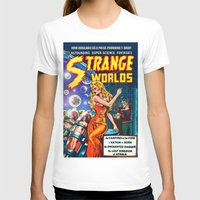 guardians of the galaxy T-shirts featuring STRANGE TALES - GALAXY GUARDIANS - REDUX by PD POP ART