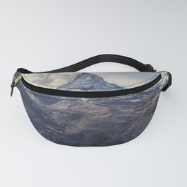 Distant Mountain Peak Fanny Pack
