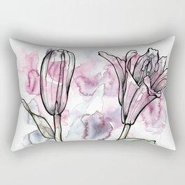 BW DAY LILY Color Splash 1 Rectangular Pillow