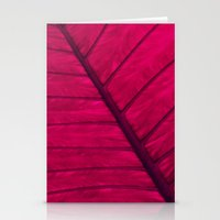 leaf Stationery Cards featuring leaf by Claudia Drossert
