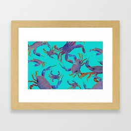 Color Crab Strategies for Beginners Framed Art Print