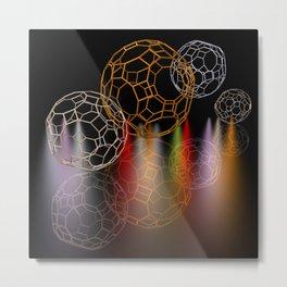 geometrical shapes and spotlights Metal Print
