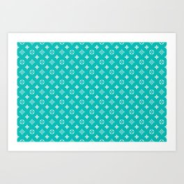 Supreme LV Tiffany Art Print