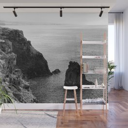 Seascape with monolith Wall Mural