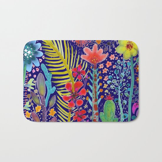 in the migthy jungle Bath Mat