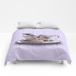 Whale of a Cup Comforters