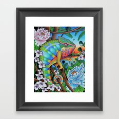 'Discovery' 11''x14'' Colored Pencil and Marker on Bristol Board 2013 Dan Gribben Framed Art Print