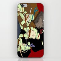 tmnt iPhone & iPod Skins featuring TMNT by SquidInkDesigns