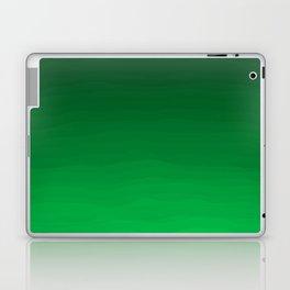 Happy Bright Apple Green Ombre Laptop & iPad Skin