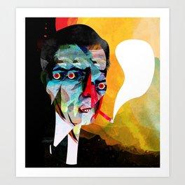 smoker2 Art Print