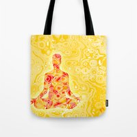nirvana Tote Bags featuring NIRVANA by Cristian Armen