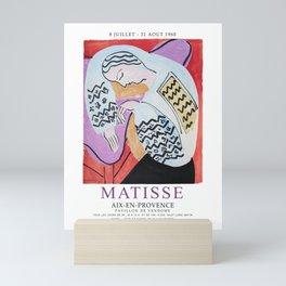 Matisse Exhibition - Aix-en-Provence - The Dream Artwork Mini Art Print