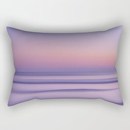 california sunset seascape Rectangular Pillow