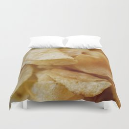 Potato Chips Duvet Cover